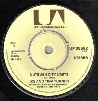 IKE AND TINA TURNER - NUTBUSH CITY LIMITS - UA