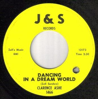 CLARENCE ASHE - DANCING IN A DREAM WORLD - J&S