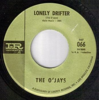O'JAYS - LONELY DRIFTER - IMPERIAL