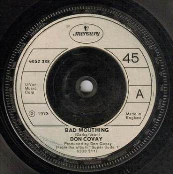 DON COVAY - BAD MOUTHING - MERCURY