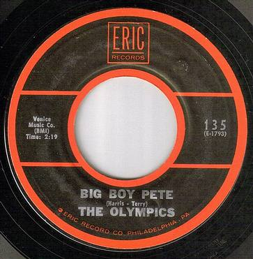 OLYMPICS - BIG BOY PETE - ERIC