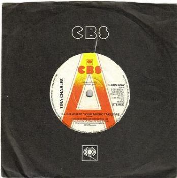 TINA CHARLES - I'LL GO WHERE YOUR MUSIC TAKES ME - CBS DJ
