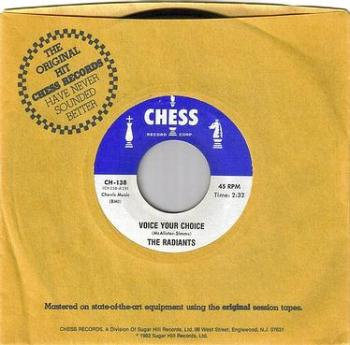 RADIANTS - VOICE YOUR CHOICE - CHESS