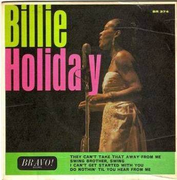 BILLIE HOLIDAY - 4 TRACK EP - BRAVO