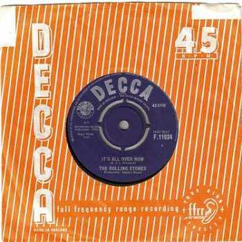 ROLLING STONES - IT'S ALL OVER NOW - DECCA