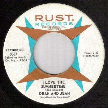 DEAN & JEAN - I LOVE THE SUMMERTIME - RUST