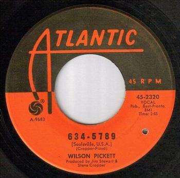 WILSON PICKETT - 634-5789 - ATLANTIC