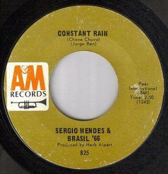 SERGIO MENDES & BRASIL '66 - CONSTANT RAIN - A&M