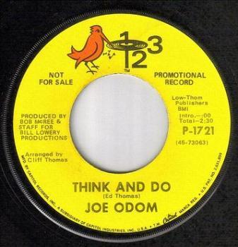 JOE ODOM - THINK AND DO - 123 DJ