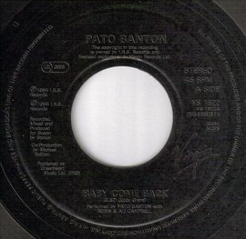 PATO BANTON - BABY COME BACK - VIRGIN