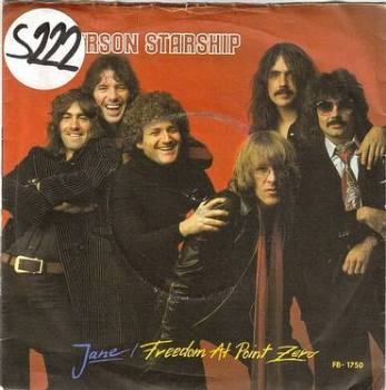 JEFFERSON STARSHIP - JANE - GRUNT DJ