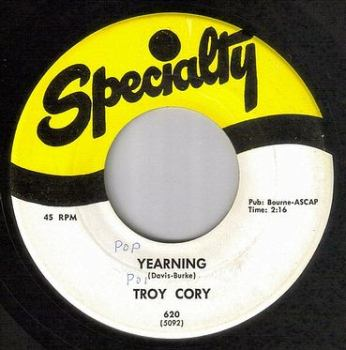 TROY CORY - YEARNING - SPECIALTY