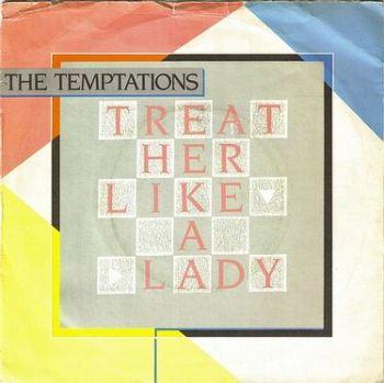 TEMPTATIONS - TREAT HER LIKE A LADY - TMG 1365