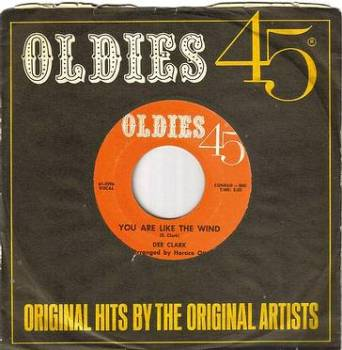DEE CLARK - YOU ARE LIKE THE WIND - OLDIES 45