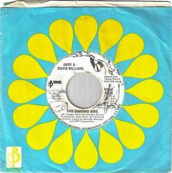 ANDY & DAVID WILLIAMS - THIS DIAMOND RING - BARNABY DJ