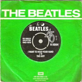 BEATLES - I WANT TO HOLD YOUR HAND - PARLOPHONE