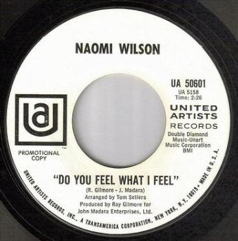 NAOMI WILSON - DO YOU FEEL WHAT I FEEL - UA DJ