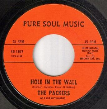 PACKERS - HOLE IN THE WALL - PURE SOUL MUSIC