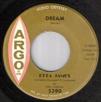 ETTA JAMES - DREAM - ARGO