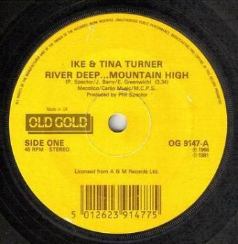 IKE & TINA TURNER - RIVER DEEP MOUNTAIN HIGH - OLD GOLD