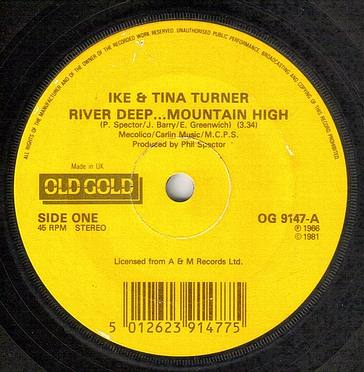 IKE & TINA TURNER - RIVER DEEP MOUNTAIN HIGH - OLD GOLD