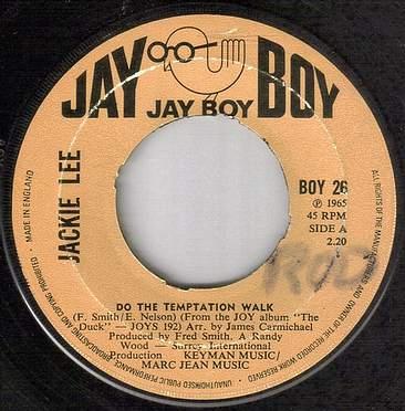 JACKIE LEE - DO THE TEMPTATION WALK - JAY BOY