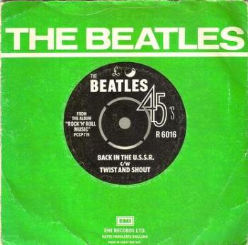 BEATLES - BACK IN THE U.S.S.R. - PARLOPHONE