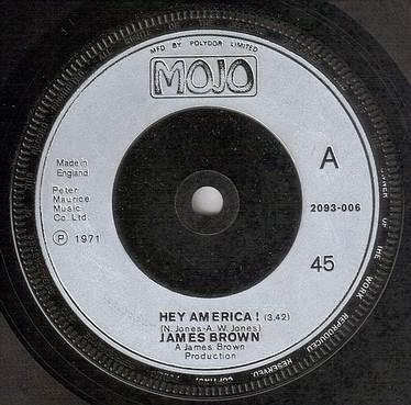 JAMES BROWN - HEY AMERICA - MOJO