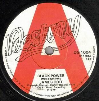 JAMES COIT - BLACK POWER - DESTINY DJ