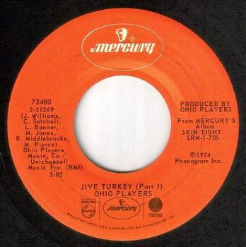 OHIO PLAYERS - JIVE TURKEY - MERCURY