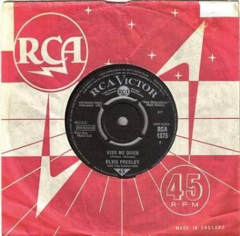 ELVIS PRESLEY - KISS ME QUICK - RCA