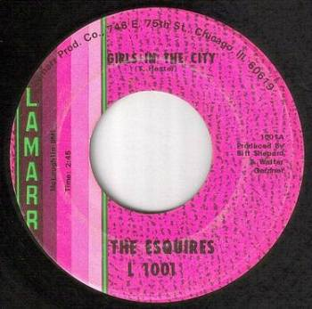 ESQUIRES - GIRLS IN THE CITY - LAMARR