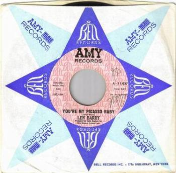 LEN BARRY - YOU'RE MY PICASSO BABY - AMY DJ