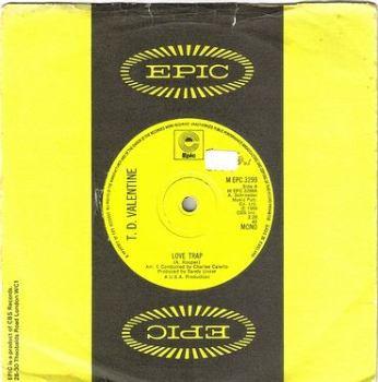 T.D. VALENTINE - LOVE TRAP - EPIC
