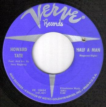 HOWARD TATE - HALF A MAN - VERVE