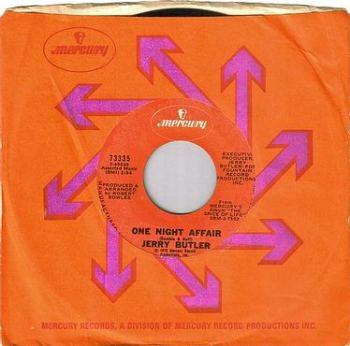 JERRY BUTLER - ONE NIGHT AFFAIR - MERCURY