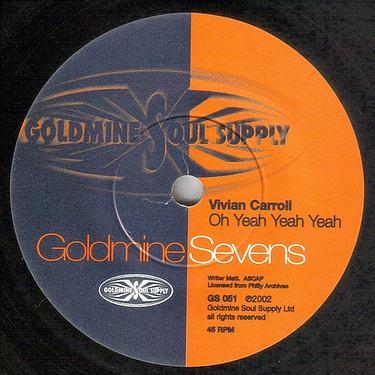 VIVIAN CARROLL - OH YEAH YEAH YEAH - GOLDMINE