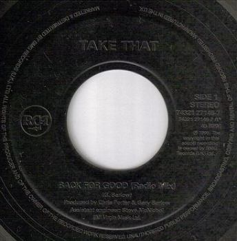 TAKE THAT - BACK FOR GOOD - RCA