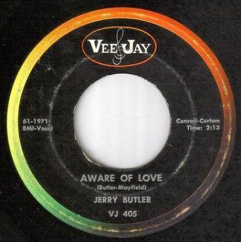 JERRY BUTLER - AWARE OF LOVE - VEE JAY