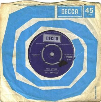 RATTLES - THE WITCH - DECCA