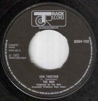 WHO - JOIN TOGETHER - TRACK