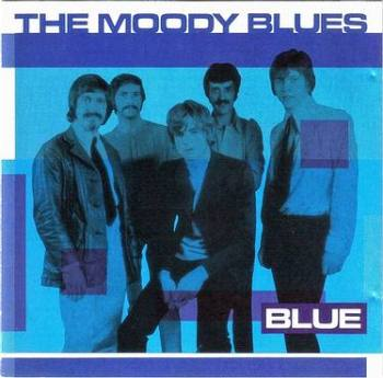 MOODY BLUES - BLUE - PICKWICK