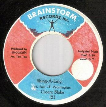 CICERO BLAKE - SHING-A-LING - BRAINSTORM