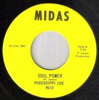 MISSISSIPPI JOE - SOUL POWER - MIDAS