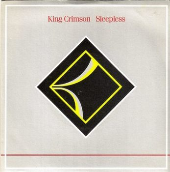 KING CRIMSON - SLEEPLESS - EG