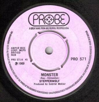 STEPPENWOLF - MONSTER - PROBE