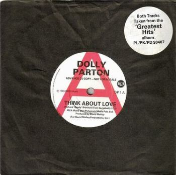 DOLLY PARTON - THINK ABOUT LOVE - RCA DJ
