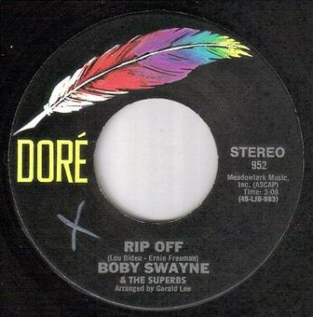 BOBY SWAYNE & THE SUPERBS - RIP OFF - DORE