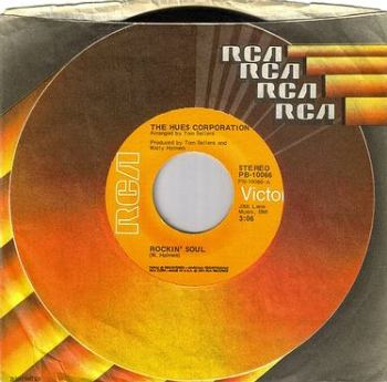 HUES CORPORATION - ROCKIN' SOUL - RCA