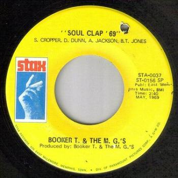 BOOKER T. & THE MG's - SOUL CLAP 69 - STAX